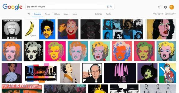 ORANGE JUICE, 'Pop Art Is For Everyone', 2017