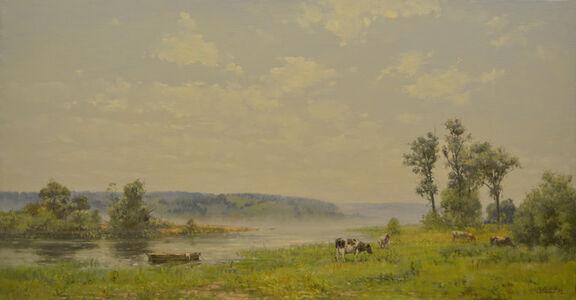 Oleg Aleksandrovich Leonov, 'Somewhere in Volga River', 1998