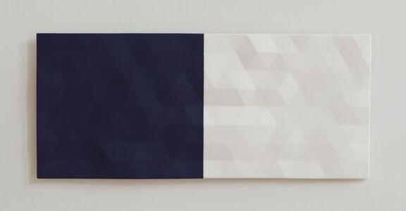 Rupert Deese, 'Merced River / 1 (blue & white) ', 2012-2017