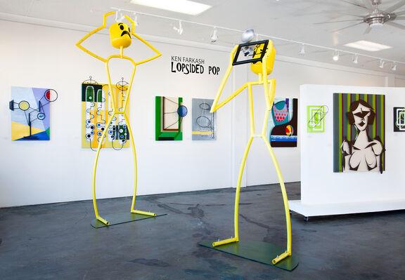 Lopsided Pop, installation view