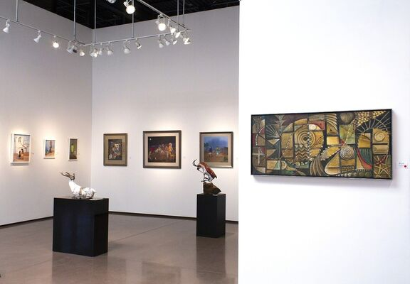 A Painting Dynasty from the Land of Enchantment, installation view