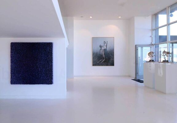 """Selection of works from """"The Sweetest Taboo"""", installation view"""