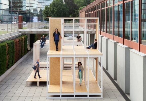 21er Pavilion 2016 – Living in the Wall, installation view