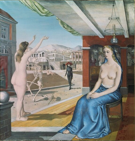 Paul Delvaux, 'The Call', 1943