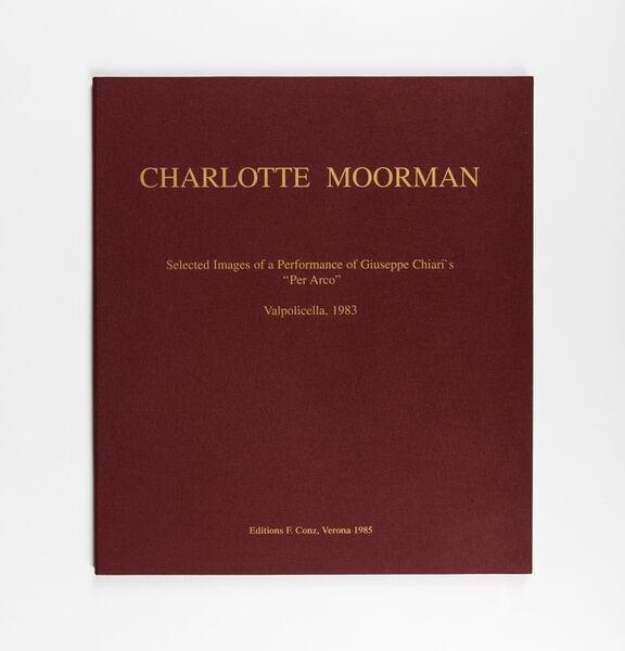 "Charlotte Moorman, 'Select Images of a performance of Giuseppe Chiari's ""Per Arco"", Valpolicella', 1983-1985"