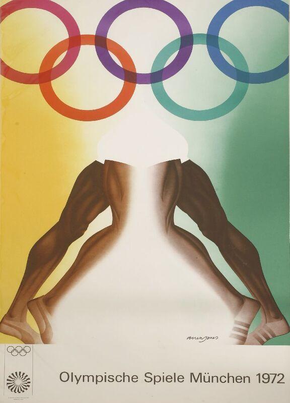 Allen Jones, 'MUNICH 1972', Posters, Posters, Sworders