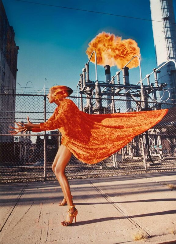 David LaChapelle, 'Hot Flash, New York', 1998, Photography, C-print, Center for Photography at Woodstock Benefit Auction