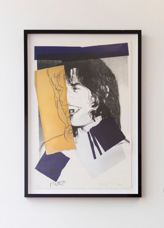 Andy Warhol, 'Mick Jagger (FS II.142)', 1975, Print, Screenprint on Arches Aquarelle (rough) Paper, Revolver Gallery