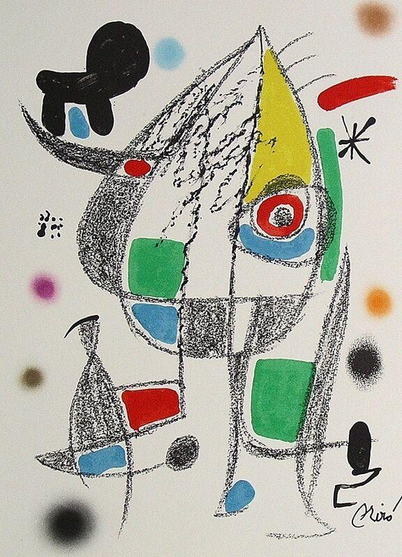 Joan Miró, 'Maravillas con variaciones acrósticas en el jardín de Miró XX', 1975, Print, Lithograph on Gvarro paper, ARTETRAMA