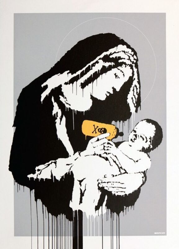 Banksy, 'Toxic Mary (Unsigned)', 2003, Print, Screenprint in colors on wove paper, ArtLife Gallery