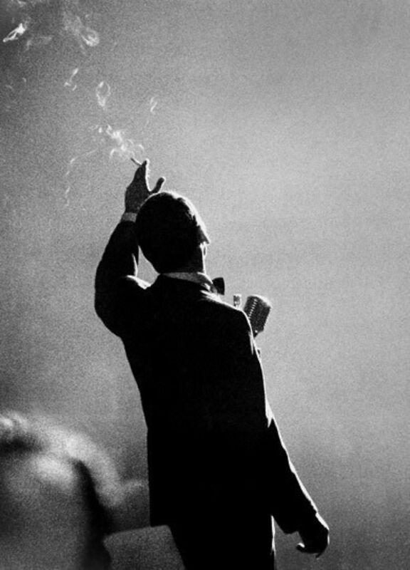 Herman Leonard, 'Frank Sinatra, Monte Carlo', 1958, Photography, Toned Silver Gelatin Print, Gallery 270