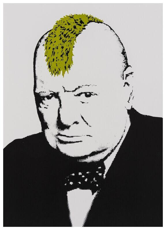 Banksy, 'Turf War', 2003, Print, Screnprint in colours, Forum Auctions