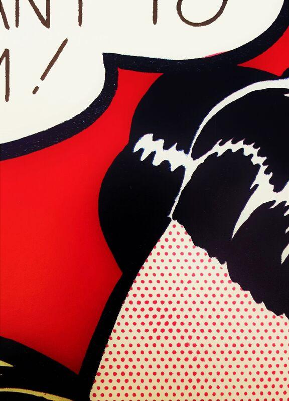 Roy Lichtenstein, 'Archer M. Huntington Art Gallery (Eddie Diptych)', 1985, Posters, Offset-Lithograph, Exhibition Poster, Graves International Art