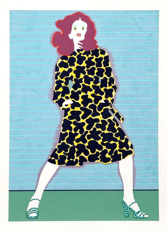 Kiki Kogelnik, 'Venetian Blinds', 1980, Print, Serigraph, RoGallery