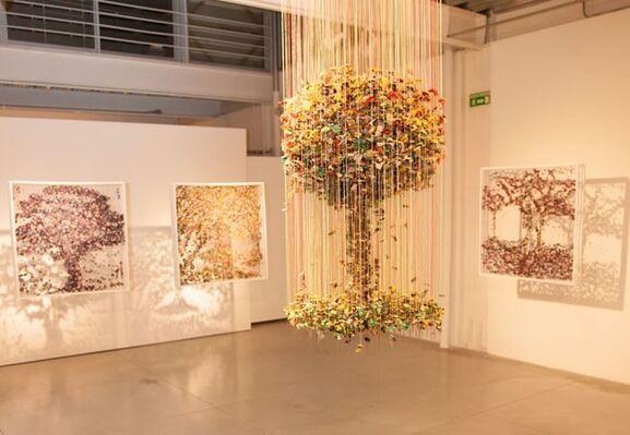 Suspendido, LaLocalidad, Bogota, 2013, installation view