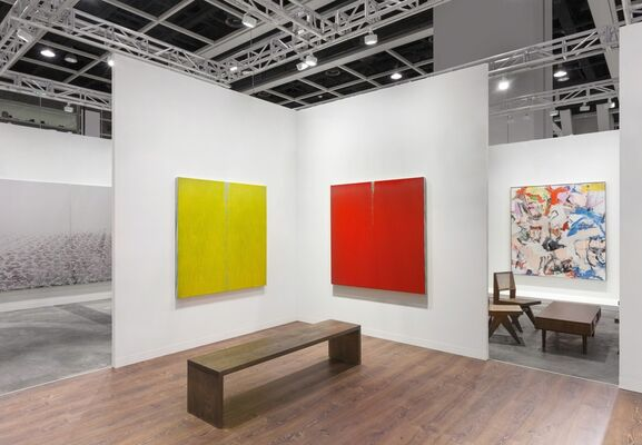 Lévy Gorvy at Art Basel in Hong Kong 2018, installation view