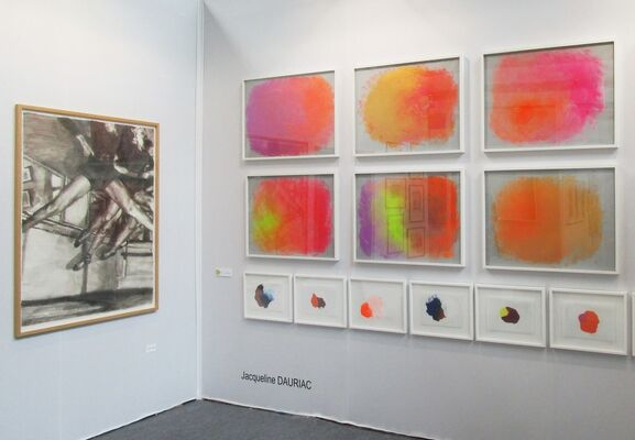 Isabelle Gounod at Drawing Now Paris 2018, installation view