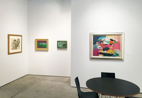 Allan Stone Projects at Art Miami 2016, installation view