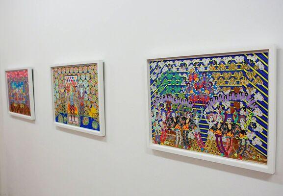 """RAVEN SERVELLON - """"Velvet Sunflower"""", installation view"""