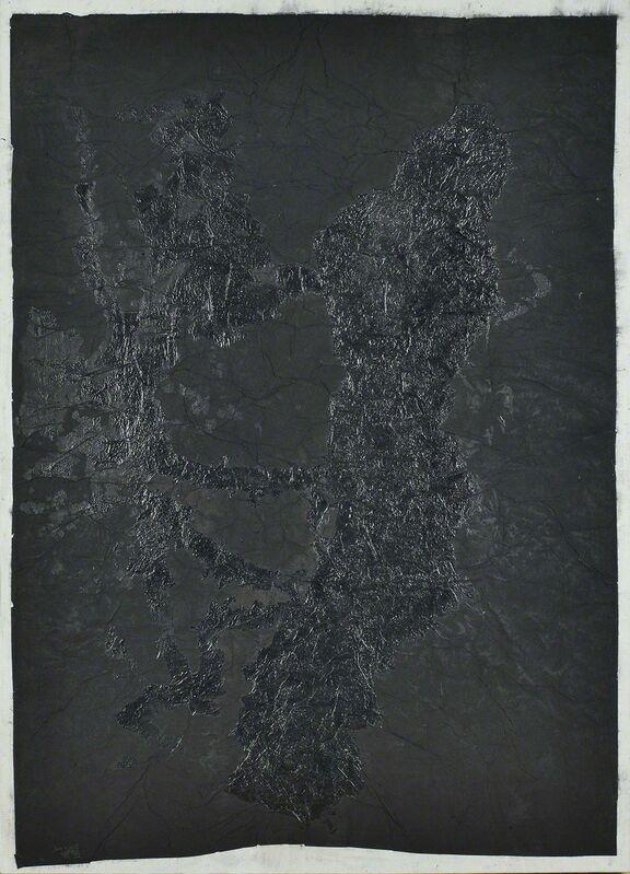 Yang Jiechang 杨诘苍, 'Xuanzai Ink', 1992-1996, Mixed Media, Chinese ink on Xuan paper, gauze, Alisan Fine Arts
