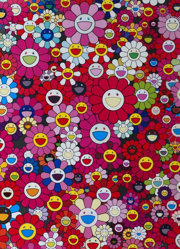 Takashi Murakami, 'An Homage to Monopink, 1960A', 2012, Print, Offset Lithograph Printed In Colours, Roseberys