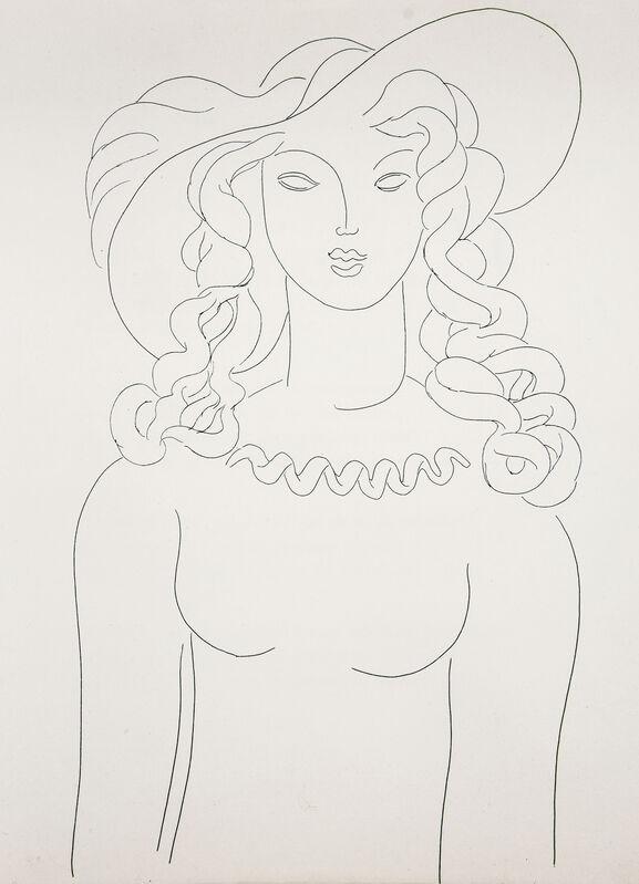 Henri Matisse, 'Poésies de Stéphane Mallarmé', 1932, Books and Portfolios, 29 etchings printed in black, Ursus Books & Prints