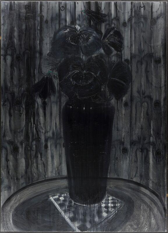 Frédéric Clot, 'Pensées', 2014, Painting, Oil on canvas, Ditesheim & Maffei Fine Art