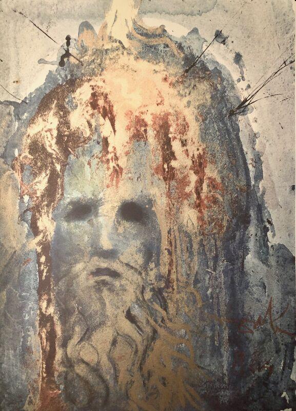 Salvador Dalí, 'Nebuchadnezzar King of Babylon, 'Nabuchodonosor Rex Babylonis', Biblia Sacra', 1967, Print, Original Lithograph, Inviere Gallery