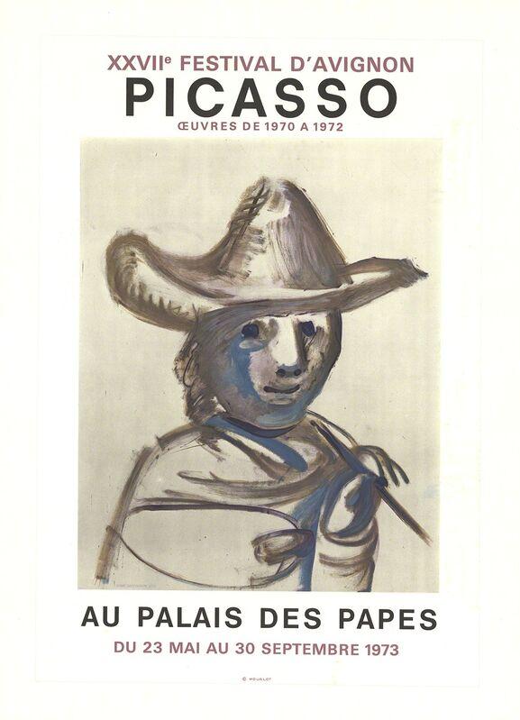 Pablo Picasso, 'XXVII Festival D'Avignon', 1973, Ephemera or Merchandise, Stone Lithograph, ArtWise