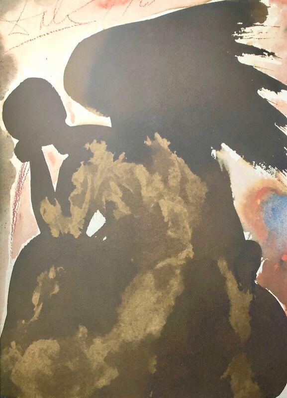 Salvador Dalí, 'And Satan Also Was Present Among The Sons Of God, 'Inter Filios Dei Affuit Etiam Satan', Biblia Sacra', 1967, Print, Original Lithograph, Inviere Gallery
