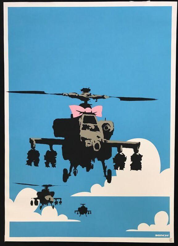 Banksy, 'Happy Chopper', 2003, Print, Screen-print in colors on wove paper, MoonStar Fine Arts Advisors