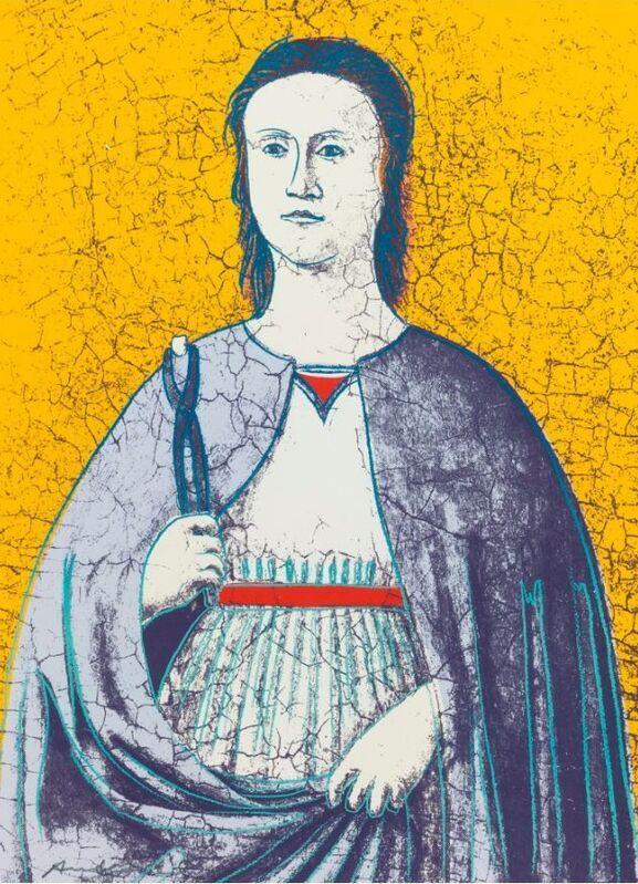 Andy Warhol, 'Saint Apollonia (Patron Saint of Dentistry) F&S II. 333', 1984, Print, Silkscreen print on Essex Offset Kid Finish paper, Reuben Colley Fine Art