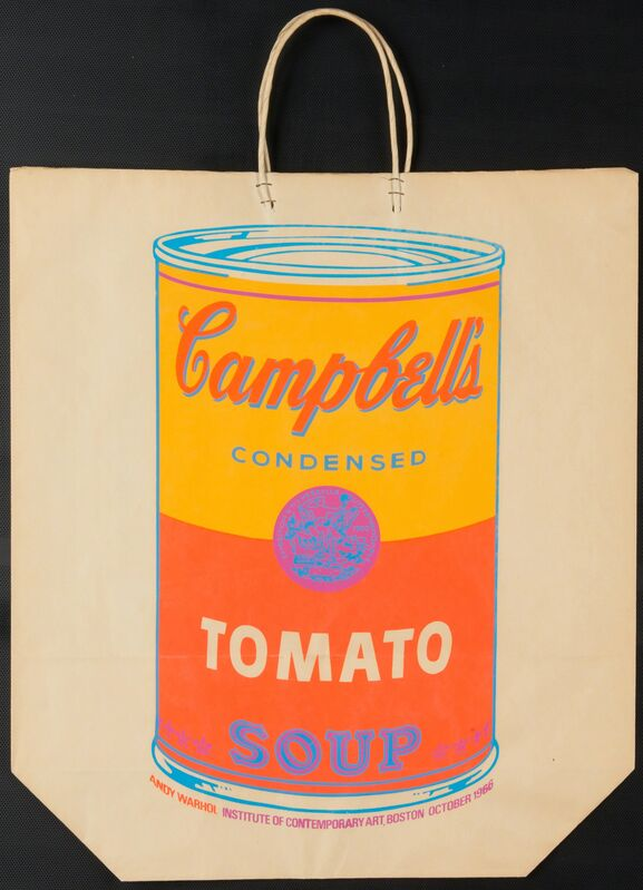 Andy Warhol, 'Campbell's Soup Can on Shopping Bag', 1966, Print, Screenprint in colors on paper shopping bag, Rago/Wright/LAMA