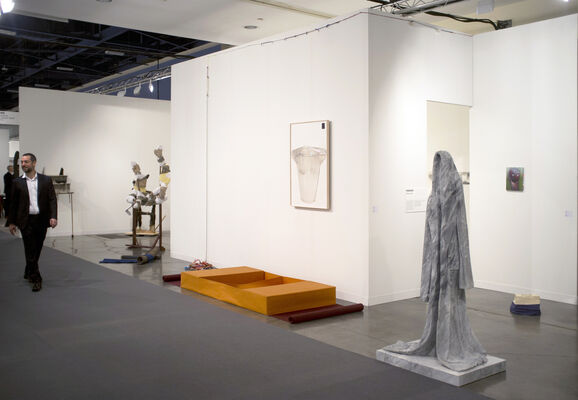 Galerie Jocelyn Wolff at Art Basel in Miami Beach 2013, installation view