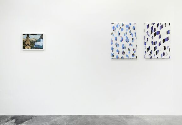 WENDY PLOVMAND | The Image that Paints this Canvas, installation view