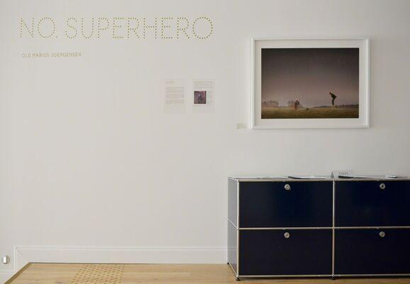 NO. SUPERHERO, installation view