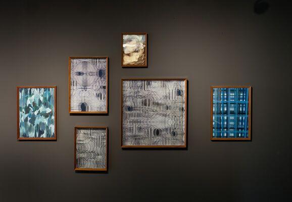 Maurizio Donzelli. La linea del tutto. Curated by Luca Cerizza, installation view