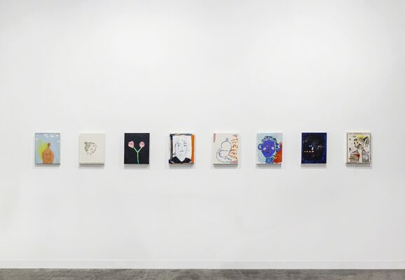 Pippy Houldsworth Gallery at Art Basel in Hong Kong 2017, installation view