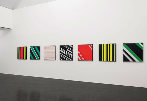 Günter Fruhtrunk   Kontinuum, installation view