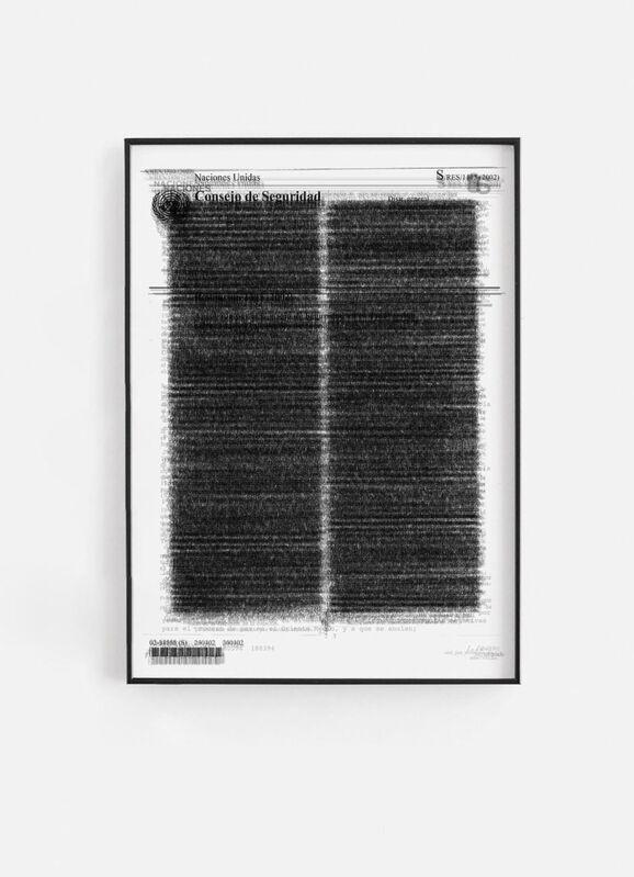 Alán Carrasco, 'Papel mojado', 2020, Other, Giclée print on Hahnemühle Photorag 308 gr/m2 paper , aluminum framed, acrylic showcase., ADN Galeria (Barcelona)