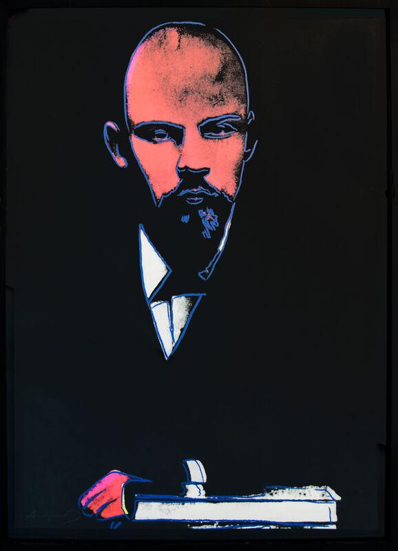 Andy Warhol, 'Lenin (F. & S. 402)', 1985, Print, Screenprint in colors, David Benrimon Fine Art