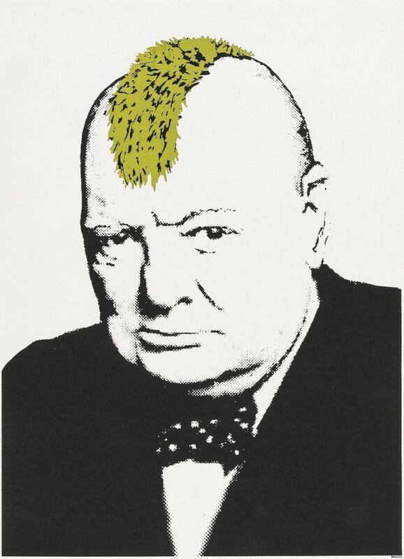 Banksy, 'Turf War', 2003, Print, Screenprint in colours, Forum Auctions