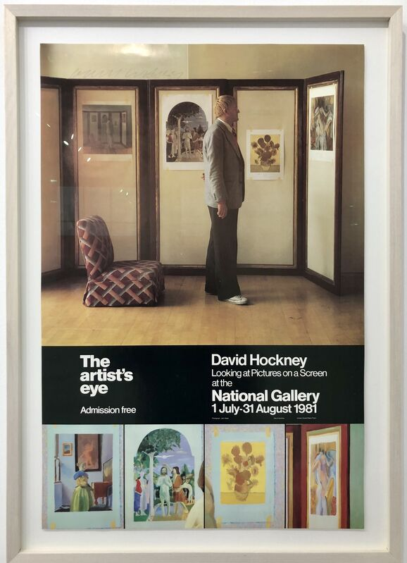 David Hockney, 'The Artist's Eye', 1981, Posters, Lithographic Poster, Mr & Mrs Clark's