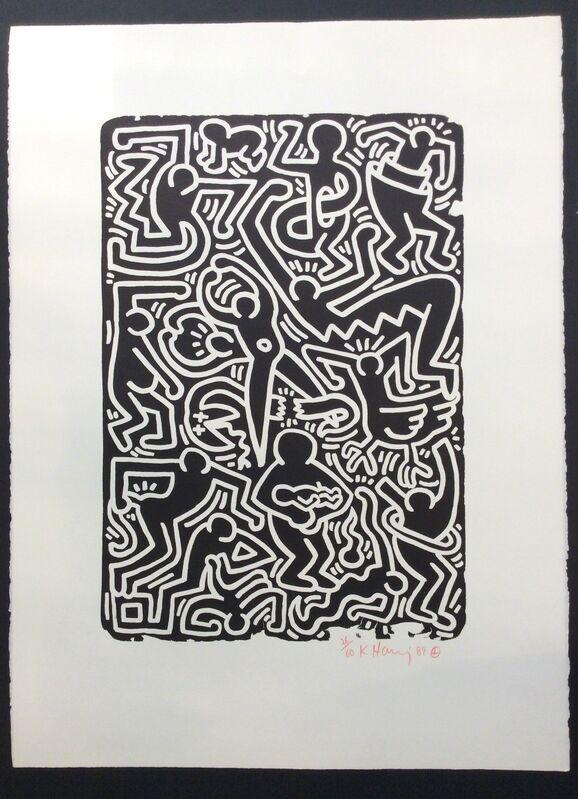 Keith Haring, 'Stones No. 5', 1989, Print, Lithograph on paper, Joseph Fine Art LONDON