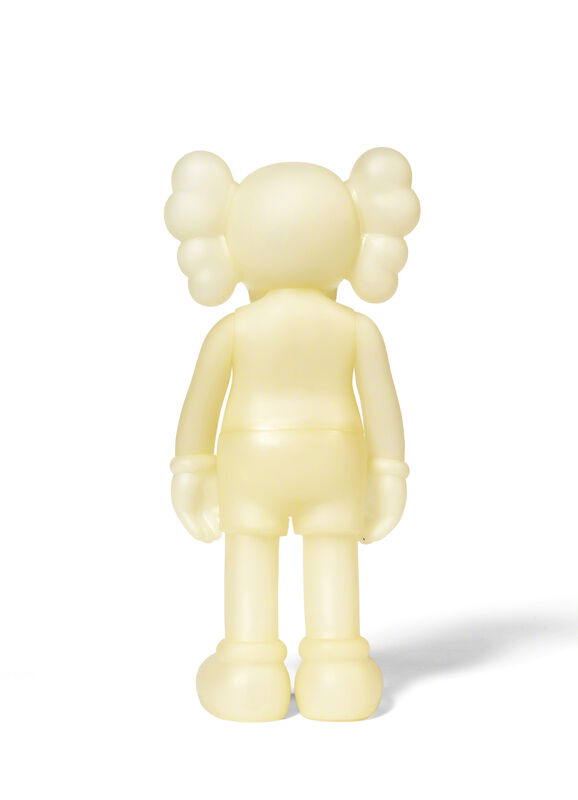 KAWS, 'FIVE YEARS LATER COMPANION (Glow in the Dark / Blue)', 2004, Sculpture, Painted cast vinyl, DIGARD AUCTION