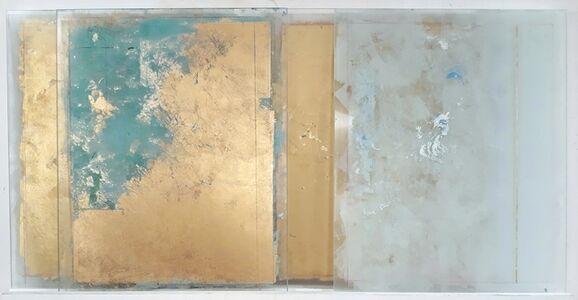 Antonello Viola, 'Oro su blu cyan e nero'