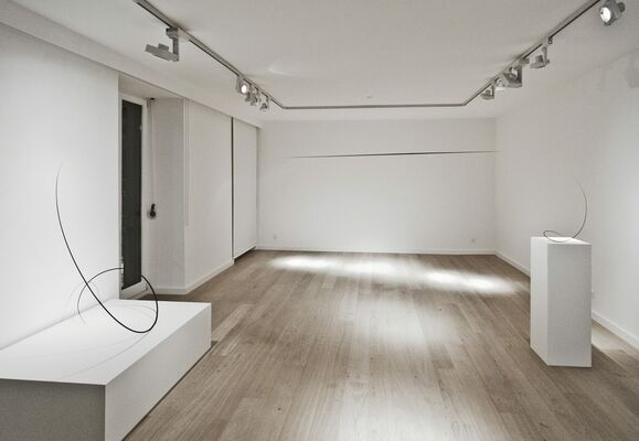 In Space - Works by Otto Boll, installation view