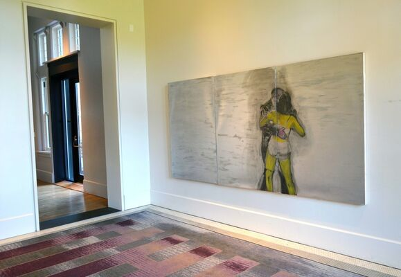 The Corridors Gallery at Hotel Henry: A Resource:Art Project, installation view