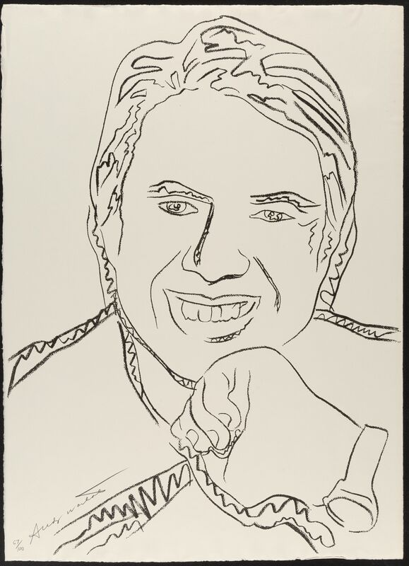 Andy Warhol, 'Jimmy Carter', 1977, Print, Screenprint on J. Green paper, Heritage Auctions