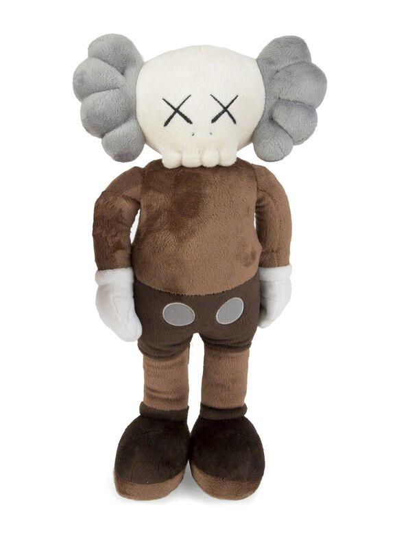 KAWS, 'Companion ( brown)', 2015, Design/Decorative Art, Stuffed plush figure, Julien's Auctions